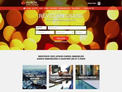 "<a href=""http://aviron-immo.fr"" target=""_blank"" title=""Visiter le site"">Aviron Conseil Immobilier</a>"