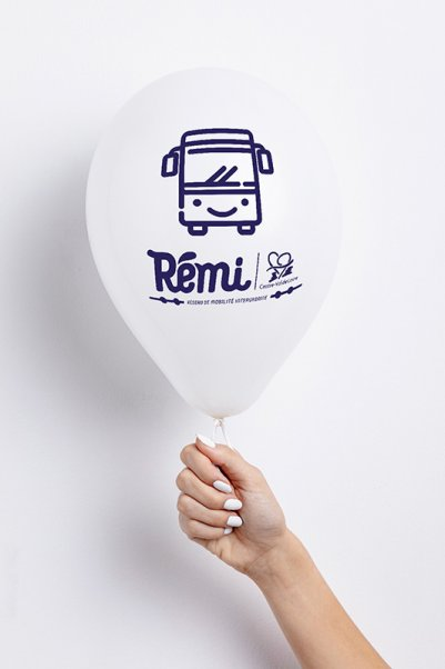Street marketing ballons comme support de communication