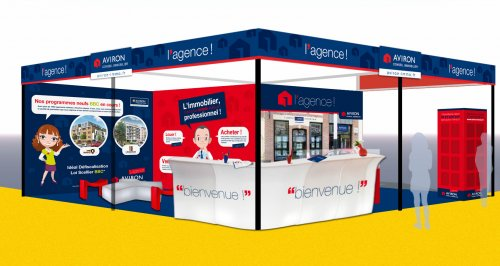 Stand : Aviron Conseil Immobilier